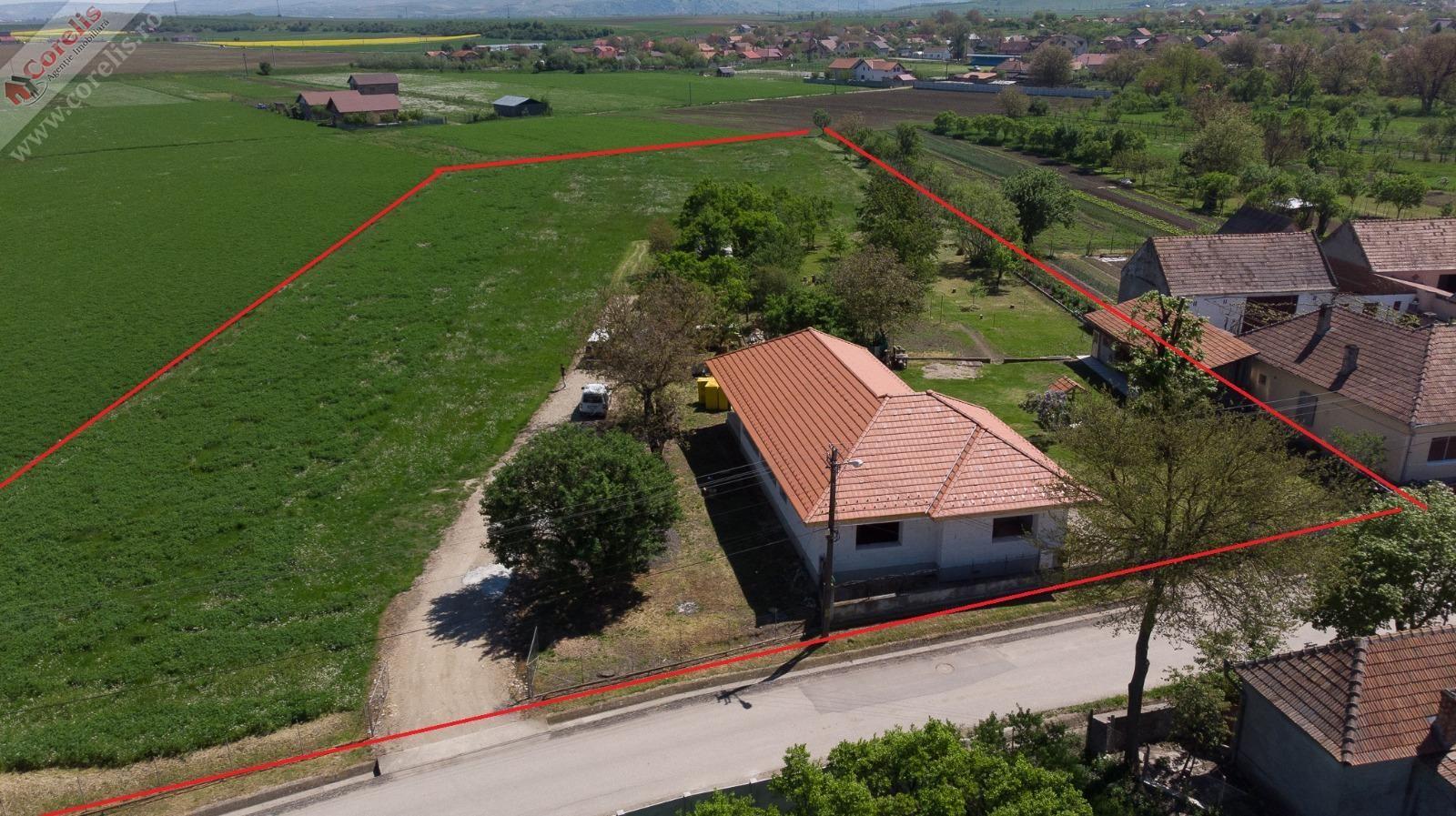 Proprietate la 10km de Alba Iulia